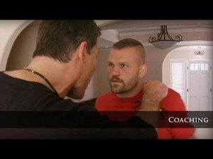 Tony Robbins and Ultimate Fighting Champion Chuck Ladell